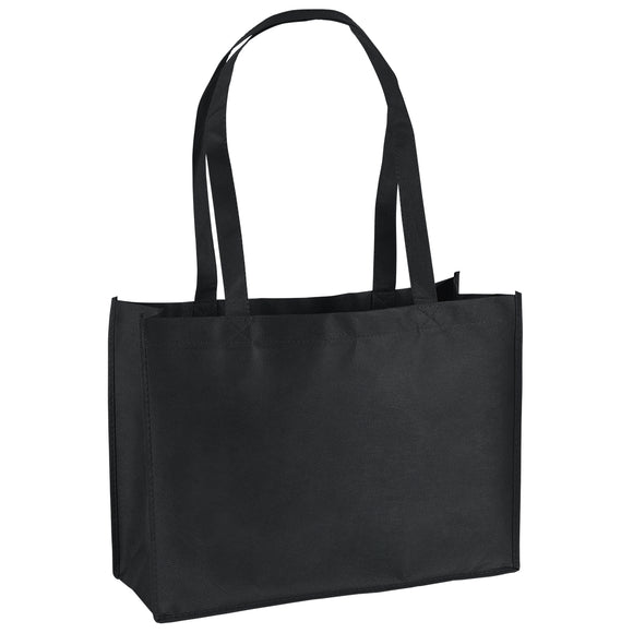 Celebration Tote Bag in Black Franklin