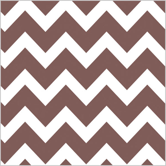 Chocolate Chevron Tissue