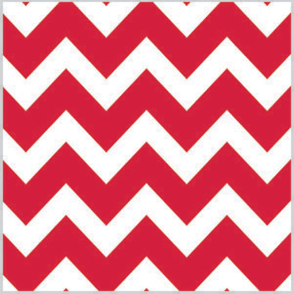 Red Chevron Tissue