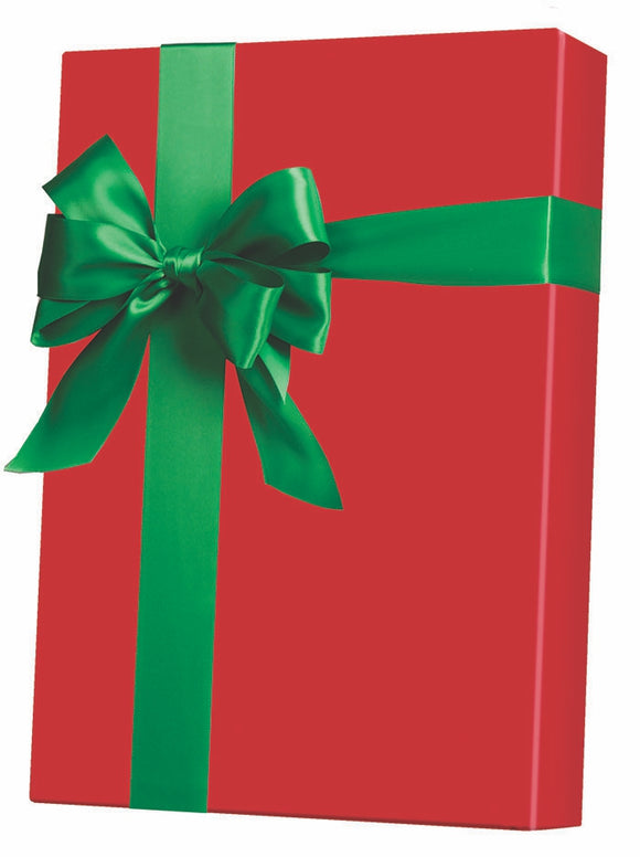 Christmas Red Gift Wrap