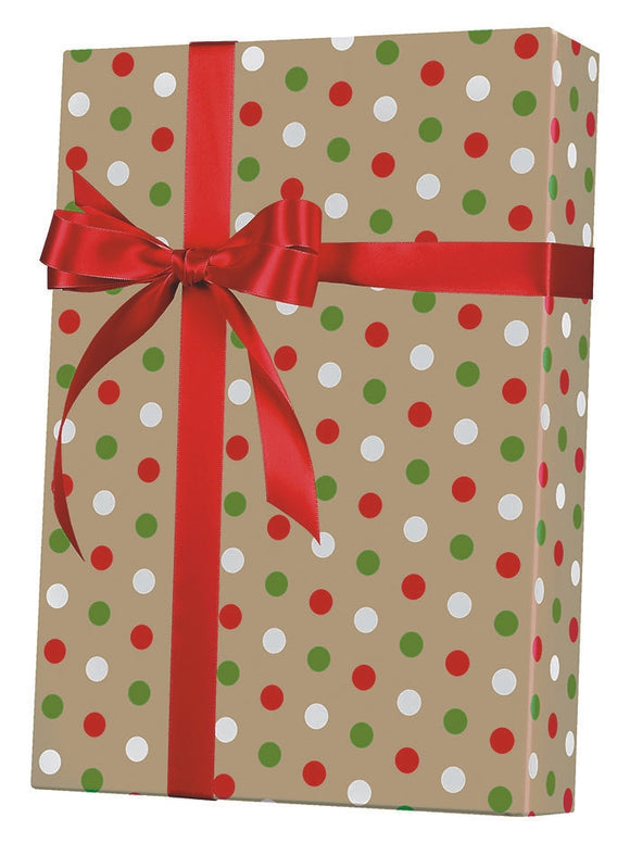 Dotty Christmas Gift Wrap