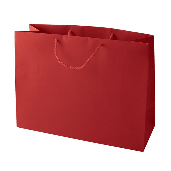 Euro Tote Bags - Matte Red