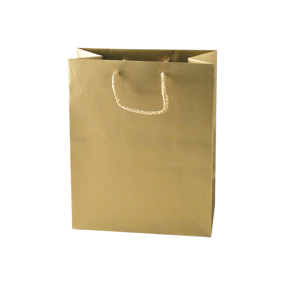 Euro Tote Bags - Matte Gold