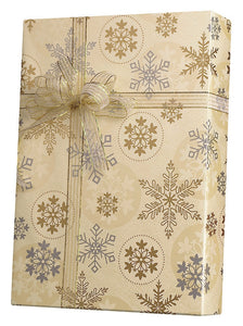 First Snowfall Gift Wrap