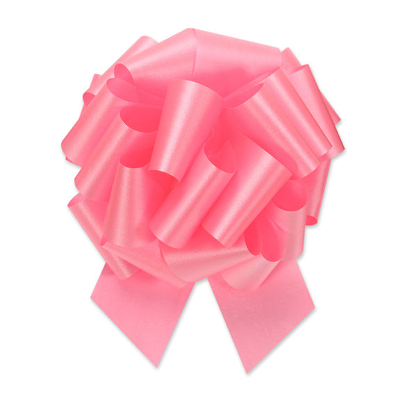 Flora Satin Perfect Bow - Azalea - 2 Sizes
