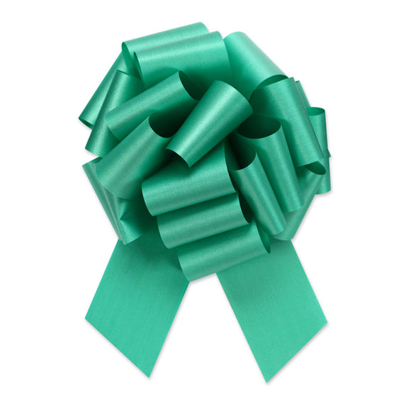Flora Satin Perfect Bow - Emerald - 2 Sizes