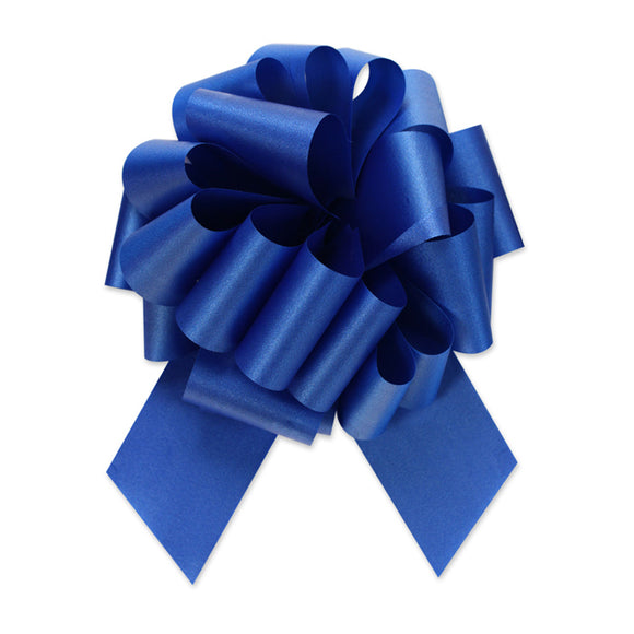 Flora Satin Perfect Bow - Royal - 2 Sizes