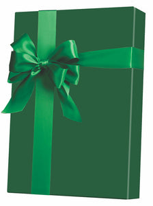 Forest Green Gloss Gift Wrap
