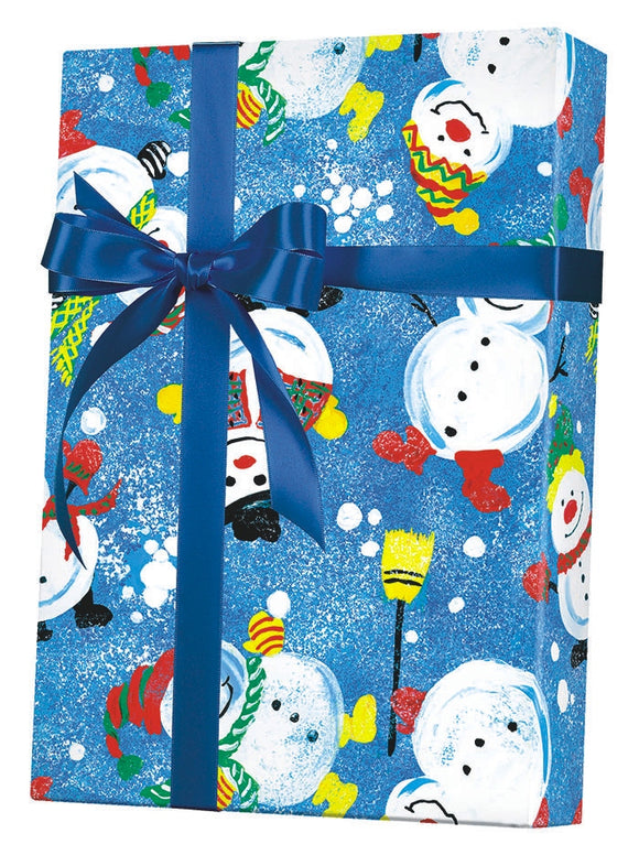 Frosty Friends Gift Wrap