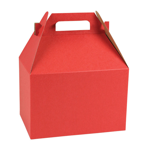 Gable Boxes - Really Red - 9