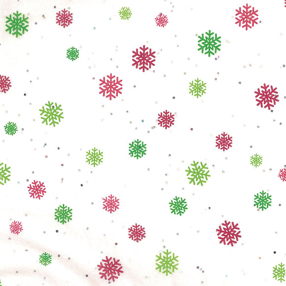 Gemstones Tissue - Just Snowflakes