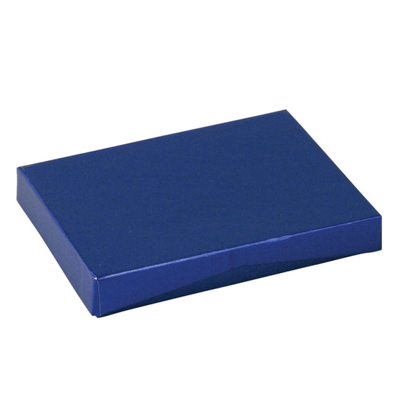 Gift Card Pop Up Boxes - Blue Embossed Foil