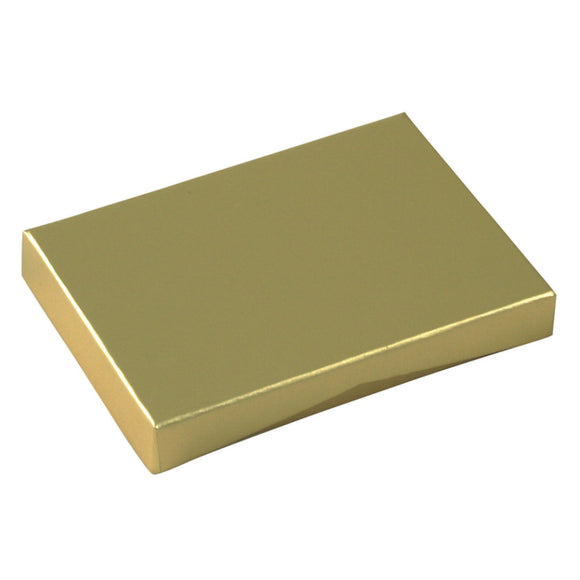 Gift Card Pop Up Boxes - Gold Metallic