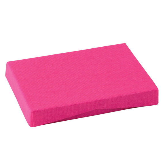 Gift Card Pop Up Boxes - Bright Pink Ribbed