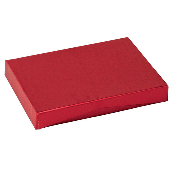 Gift Card Pop Up Boxes - Red Moire