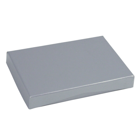 Gift Card Boxes - Silver Gloss