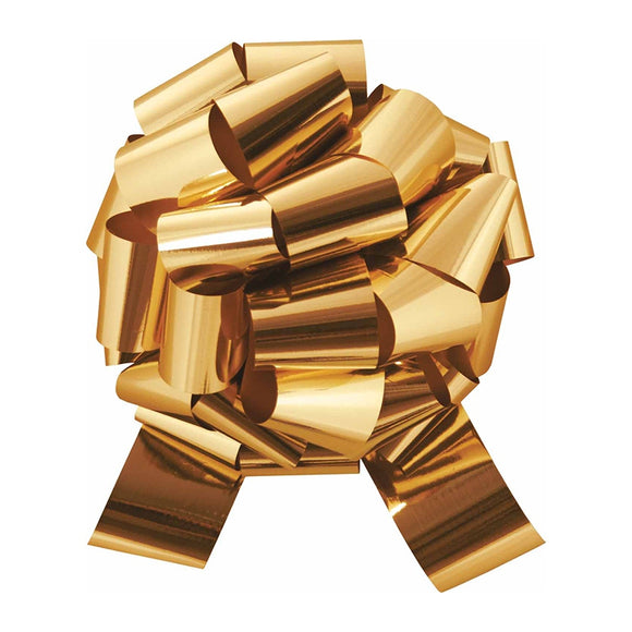 Glitter Perfect Bow - Gold - 3 Sizes