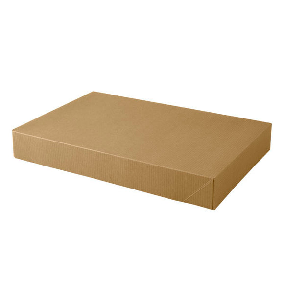 Apparel Boxes - Kraft Pinstripe - 15