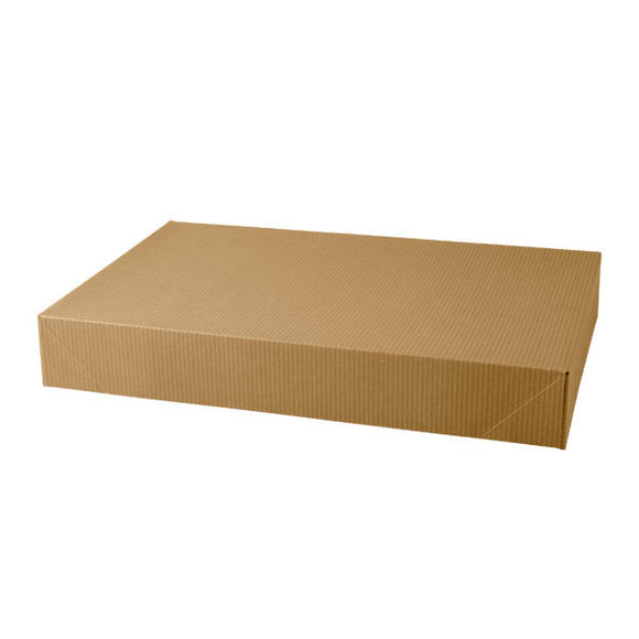 Apparel Boxes - Kraft Pinstripe - 17
