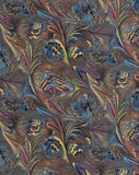Marbled Feathers Gift Wrap