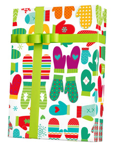 Mod Mittens Gift Wrap