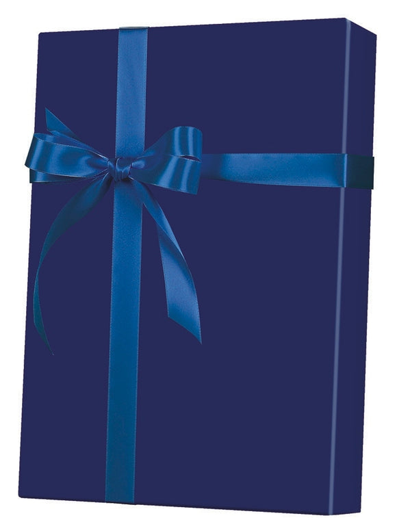 Navy Gloss Gift Wrap