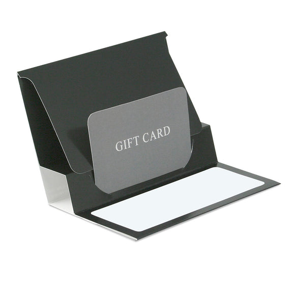 Gift Card Pop Up Folders - Black