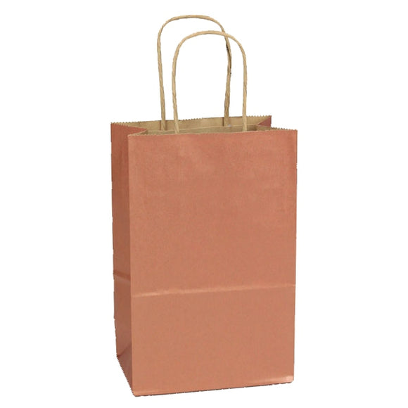 Precious Metals Shopping Bags - Copper Penny