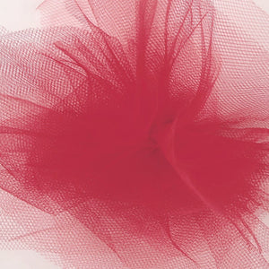 Tulle - Cherry Red
