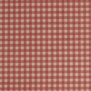 Gingham Tissue - Red & Kraft