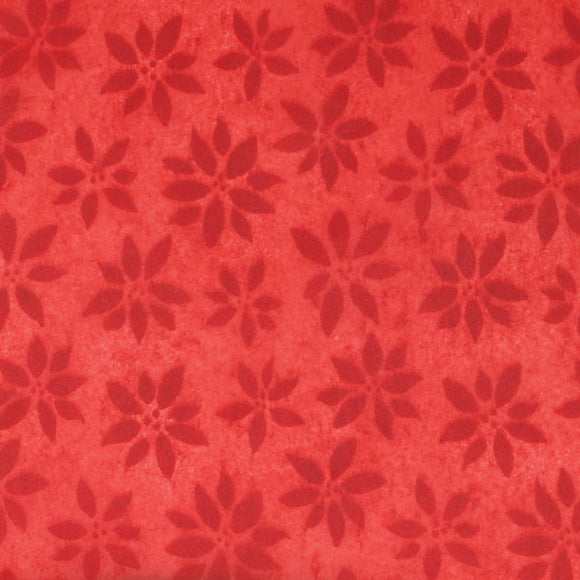Reflections Tissue - Red Poinsettia