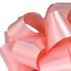 Double Face Satin Ribbon - Light Pink - 3 Sizes