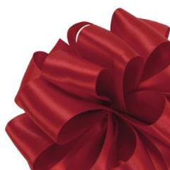 Double Face Satin Ribbon - Red - 3 Sizes