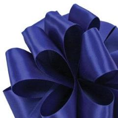 Double Face Satin Ribbon - Royal Blue - 3 Sizes