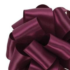 Double Face Satin Ribbon - Wine - 3 Sizes