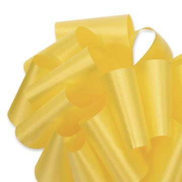 Flora Satin Ribbon - Daffodil Yellow