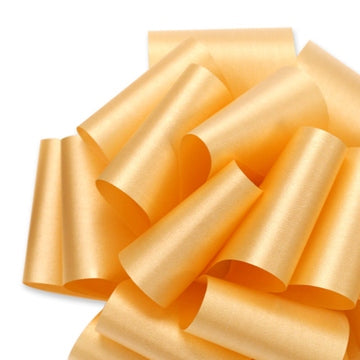 Flora Satin Ribbon - Gold - 2 Sizes