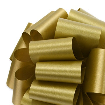 Flora Satin Ribbon - Holiday Gold