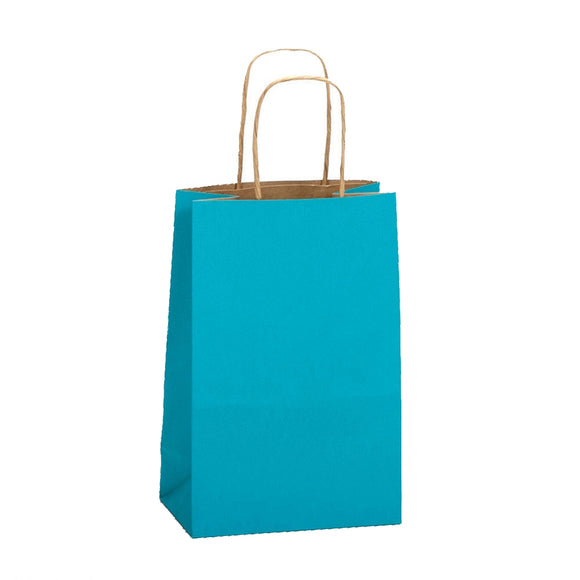 Natural Smooth Shoppers - Aqua Blue - 5-1/2