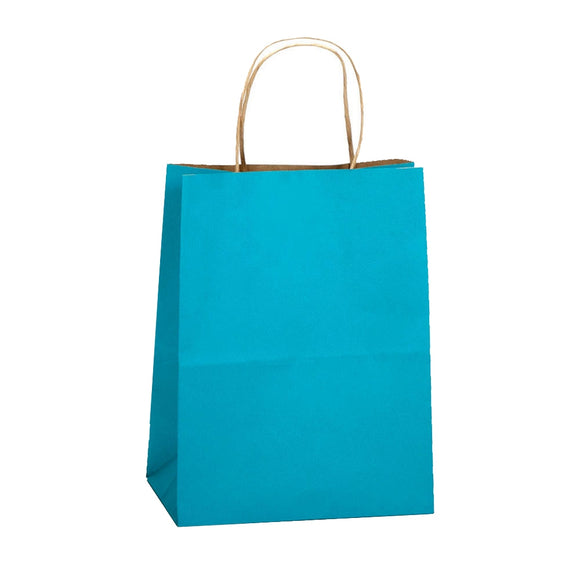 Natural Smooth Shoppers - Aqua Blue - 8