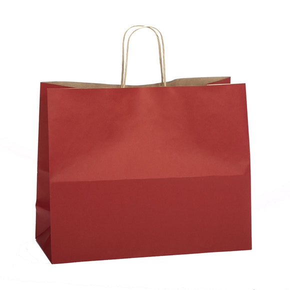 Natural Smooth Shoppers - Scarlet Red - 16