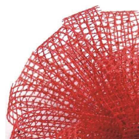 Showtime Mesh Ribbon - Red