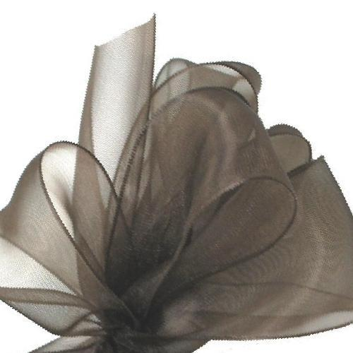 Simply Sheer Ribbon - Chocolate - 2 Sizes