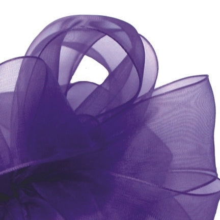 Simply Sheer Ribbon - Purple - 2 Sizes