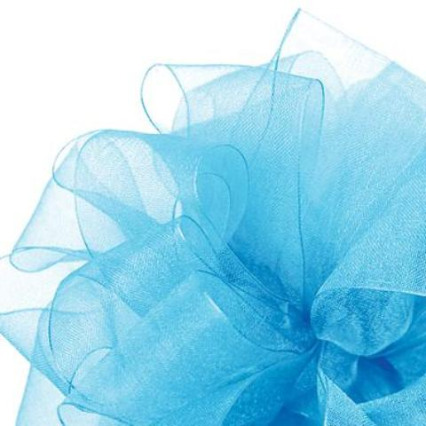 Simply Sheer Ribbon - Robins Egg Blue - 2 Sizes