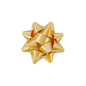 Splendorette Star Bow - Gold - 2 Sizes
