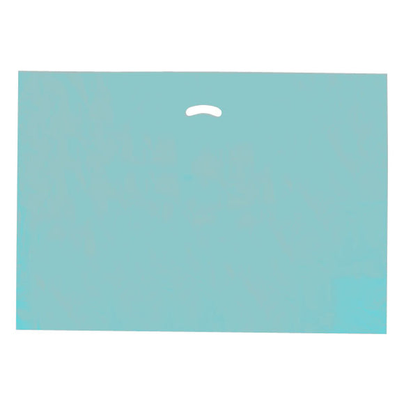 Super Gloss Plastic Bags - Teal - 24