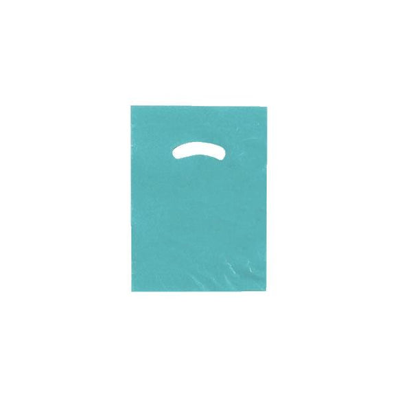 Super Gloss Plastic Bags - Teal - 9