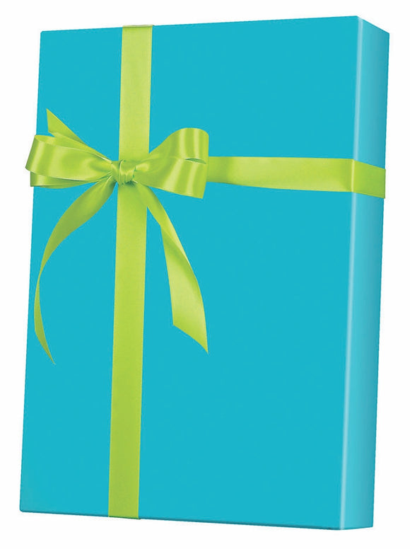 Turquoise Gloss Gift Wrap