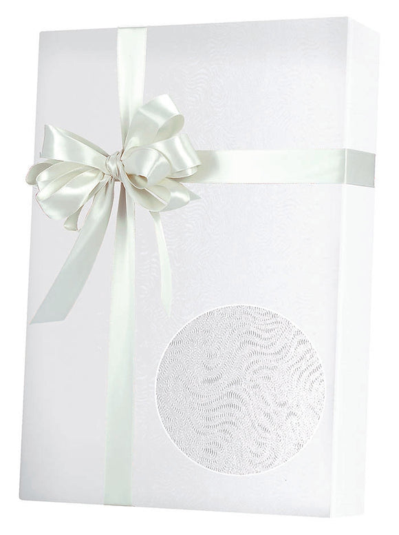White Grain Gift Wrap
